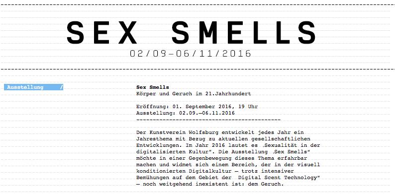 Sex smell